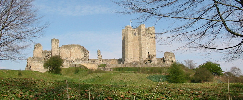 South Yorkshire: Conisbrough Castle