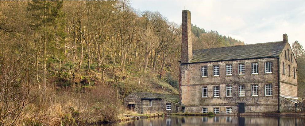 West Yorkshire: Gibson Mill