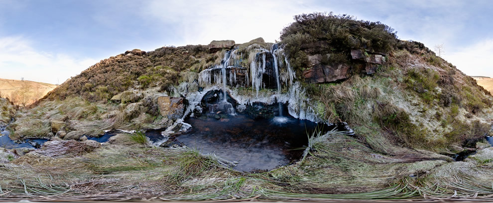 West Yorkshire: The Brontë Waterfall