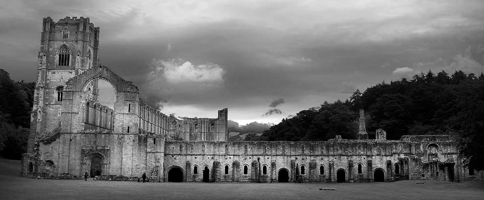 North Yorkshire: Fountains Abbey