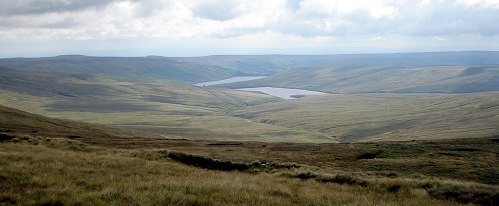 North Yorkshire: Scarhouse and Angram Reservoirs